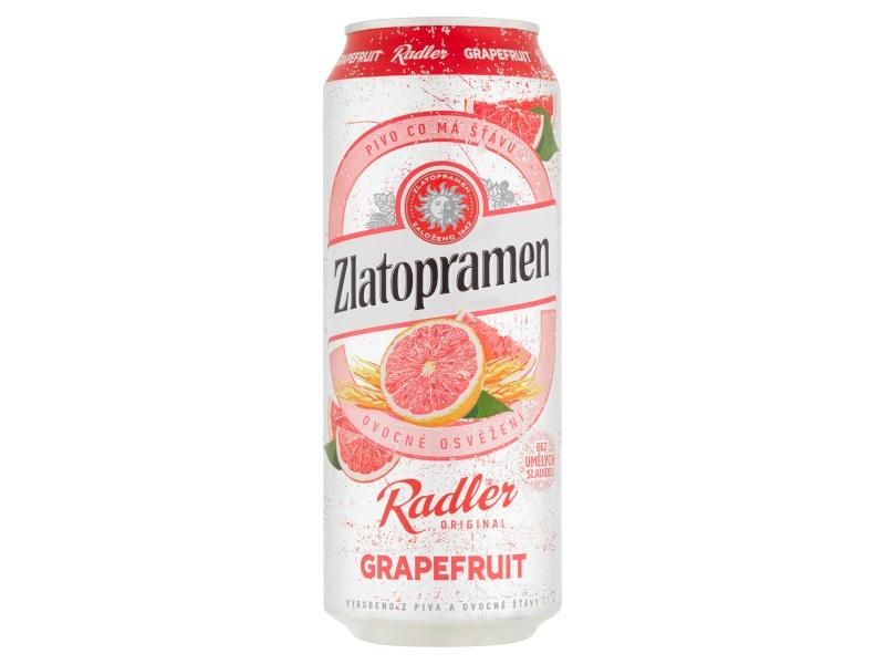 VÝPRODEJ Zlatopramen Radler Grapefruit 0,5l, plech
