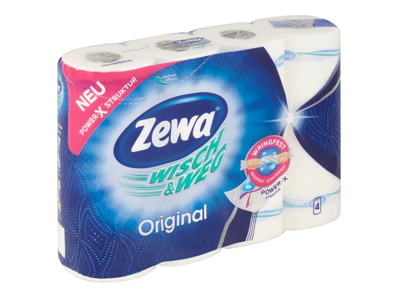 Zewa Wisch&Weg Original kuchyňské utěrky 4 role