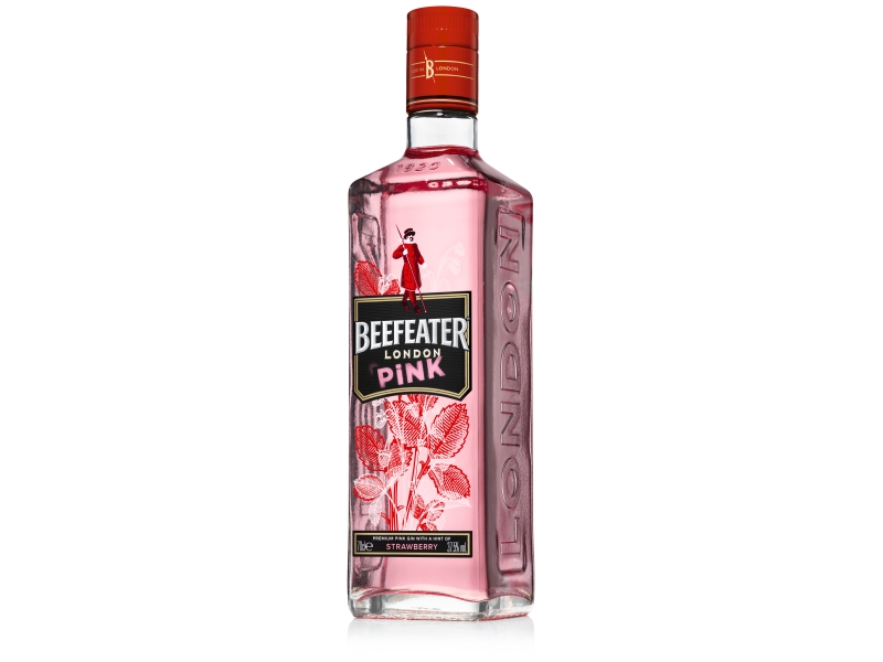 Beefeater Pink Gin 37,5%, 700ml