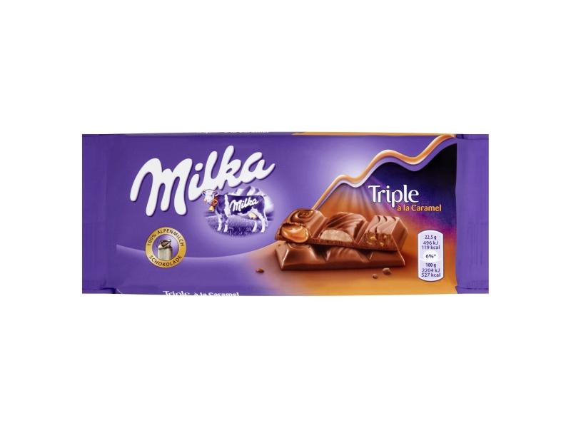 Milka Triple á la caramel 90g