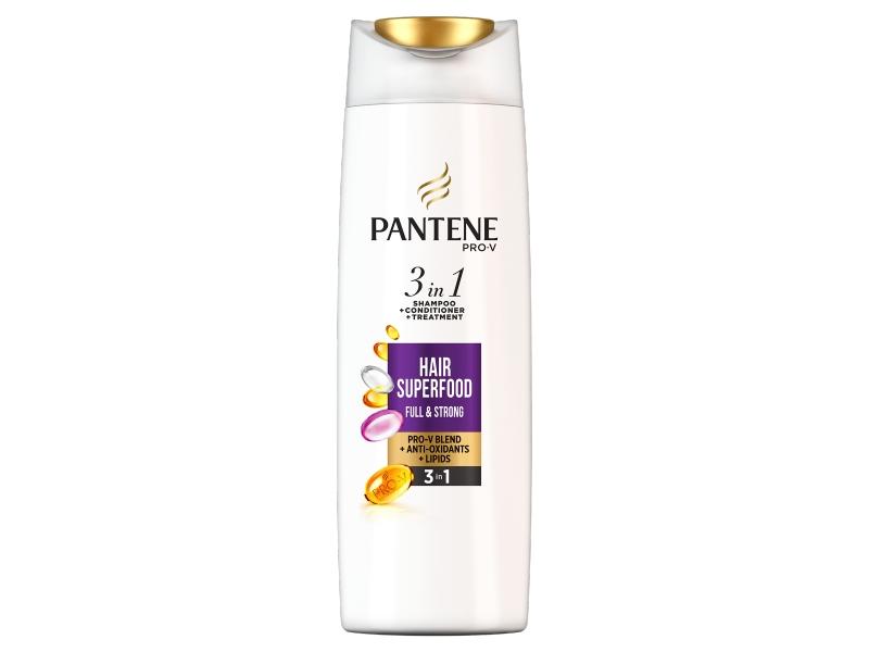 Pantene Pro-V Superfood 3v1 Šampon + Balzám + Maska 360ml