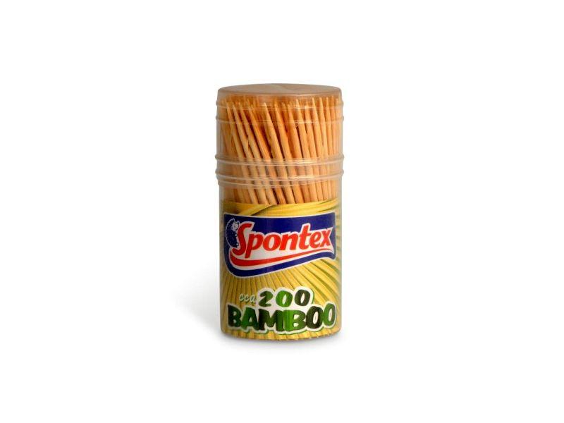 Spontex Bambusová párátka 200ks