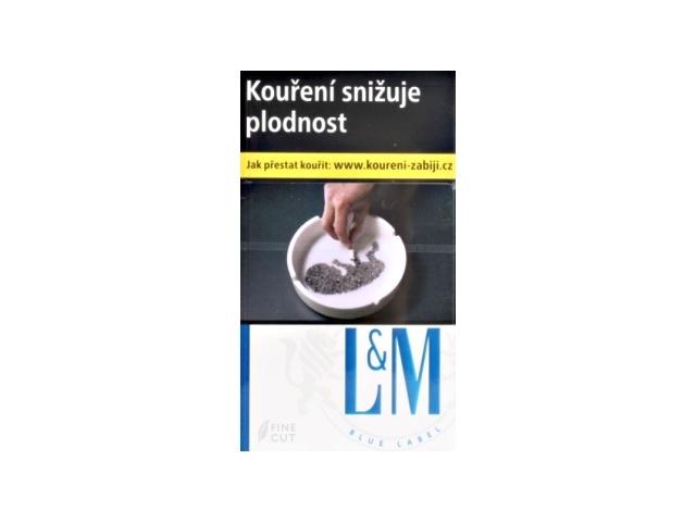 L&M Blue Label Cigarety s filtrem 20ks