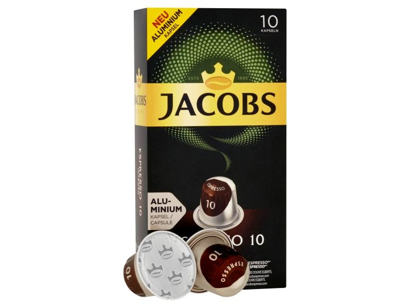 JACOBS Espresso Intenso 10 - 10 hliníkových kapslí