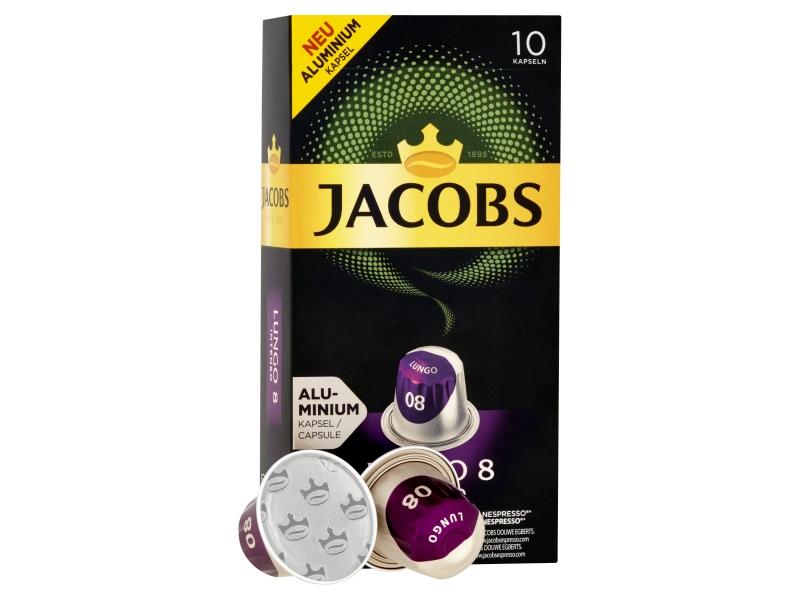 JACOBS Lungo Intenso 8 - 10 hliníkových kapslí