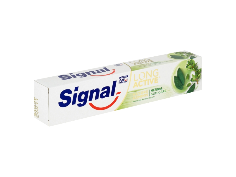 Signal Long Active Nature Elements Herbal Gum care zubní pasta 75ml