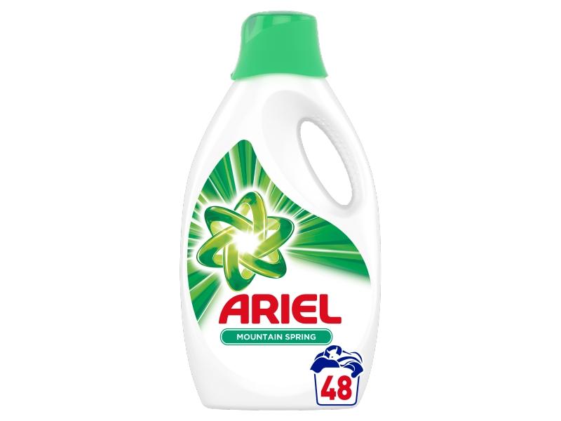 Ariel Mountain Spring Tekutý Prací Prostředek (48 Praní) 2,64L