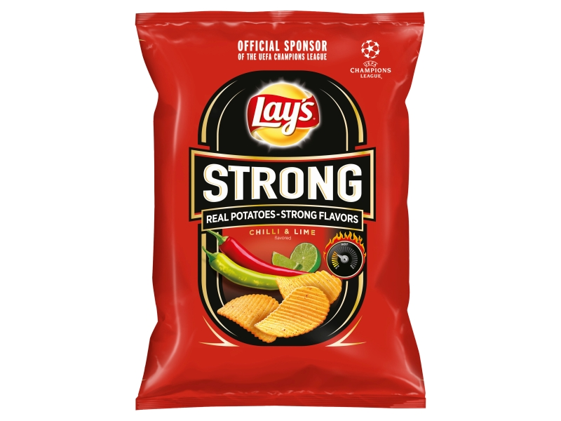 Lay´s Strong Chips s příchutí chilli a limetky 65g
