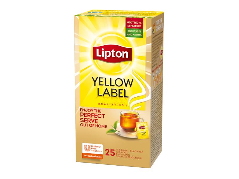 Lipton Yellow Label černý čaj 25 x 1,8 g (45g)