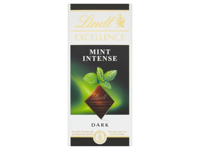 Lindt Excellence Hořká čokoláda Mint Intense 100g