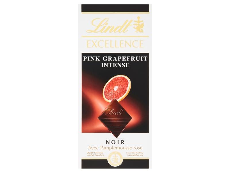 Lindt Excellence Hořká čokoláda s příchutí grapefruitu 100g
