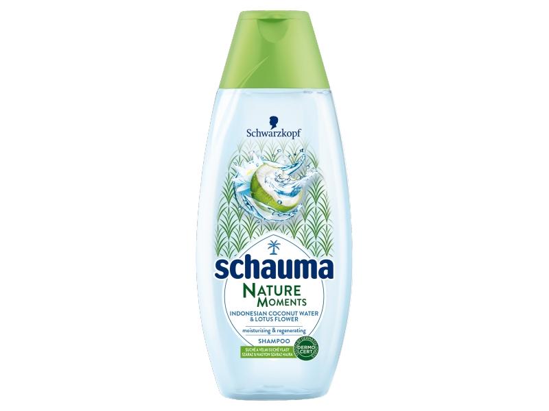 Schauma Nature Moments Coconut Hydratační a regenerační šampon 400ml