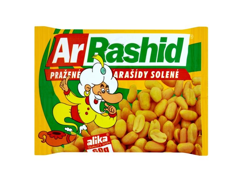 Ar. Rashid Arašídy pražené solené 60g