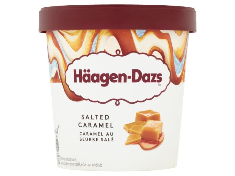 Häagen-Dazs Salted Caramel 460ml, kelímek
