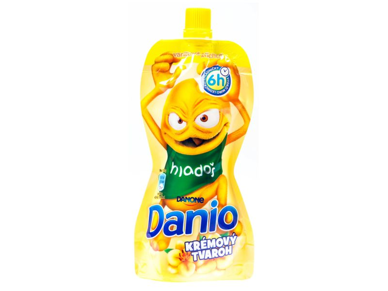 Danone Danio Kapsička Krémový tvaroh vanilková příchuť 130g
