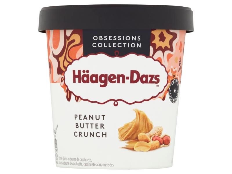 Häagen-Dazs Peanut Butter Crunch 460ml, kelímek