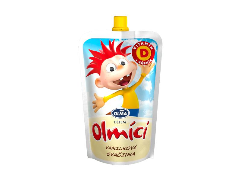 Olma Olmíci Kapsička vanilka 80g