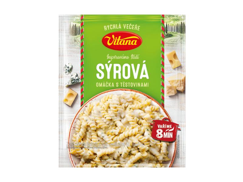 Vitana Máme chuť na... Sýrová omáčka s těstovinami 160g