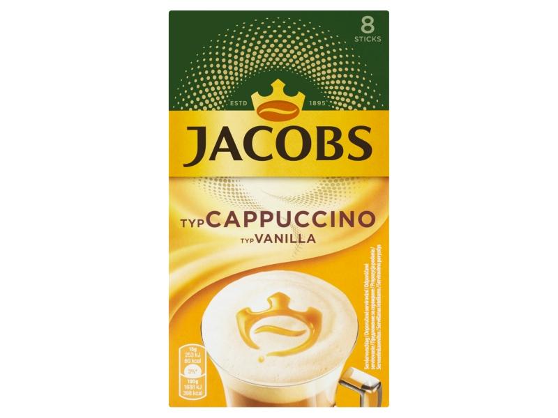 Jacobs Cappuccino Vanilla 8 x 15g (164g)