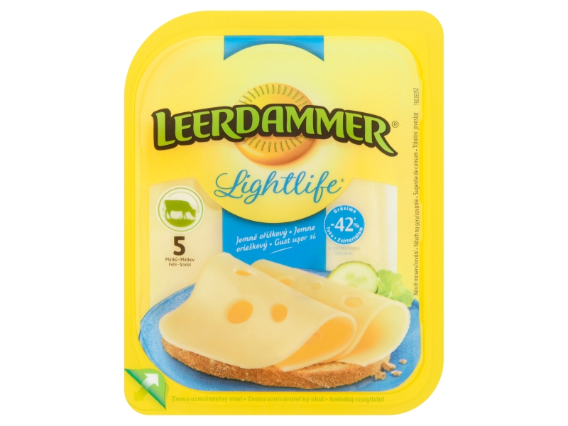 Leerdammer Lightlife plátky 100g