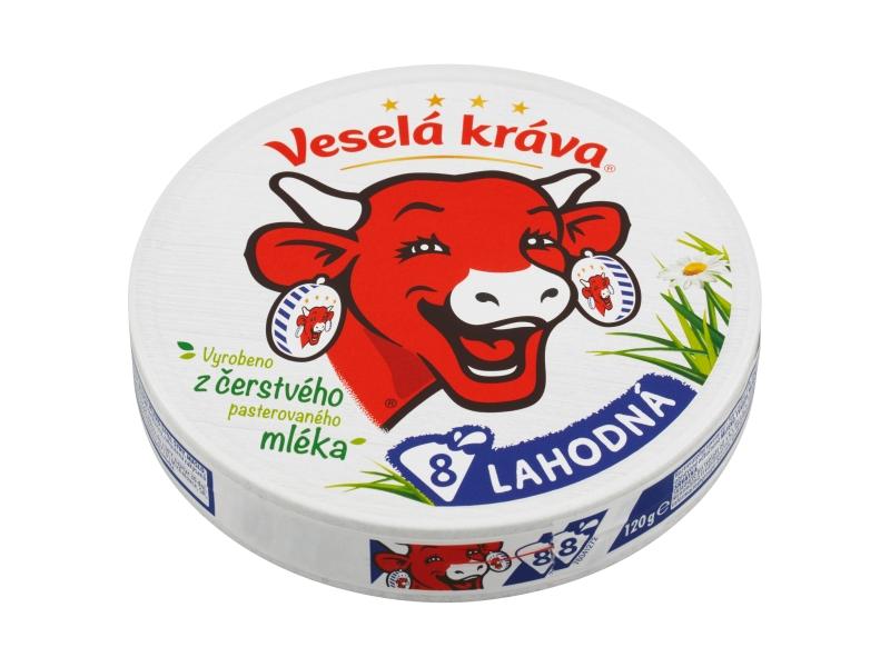 Veselá Kráva Lahodná tavený sýr 120g