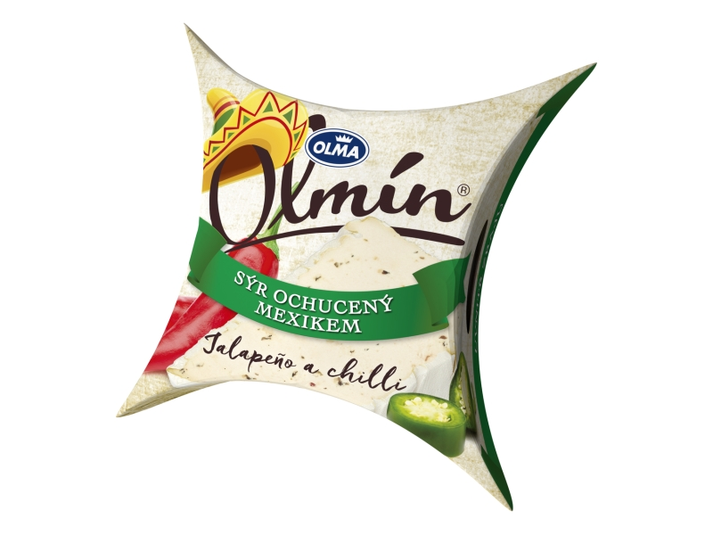 Olma Olmín Jalapeño a chilli papričky Zrající sýr 100g