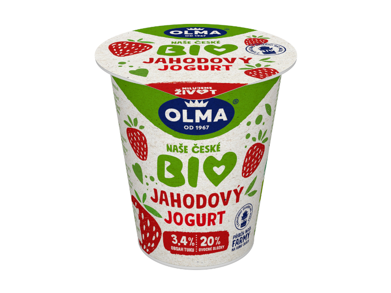 Olma Jogurt Bio Jahoda 150g