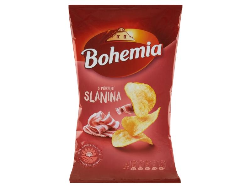 Bohemia Chips s příchutí slanina 140g