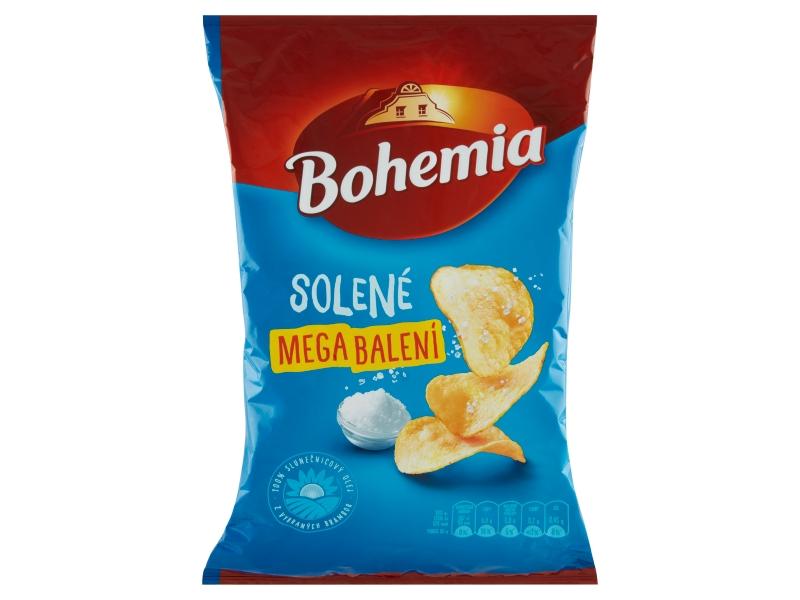 Bohemia Chips solené mega balení 215g