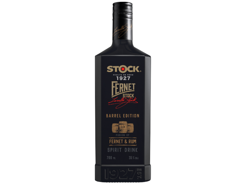 Fernet Stock Barrel Edition FERNET & RUM 35% 700ml
