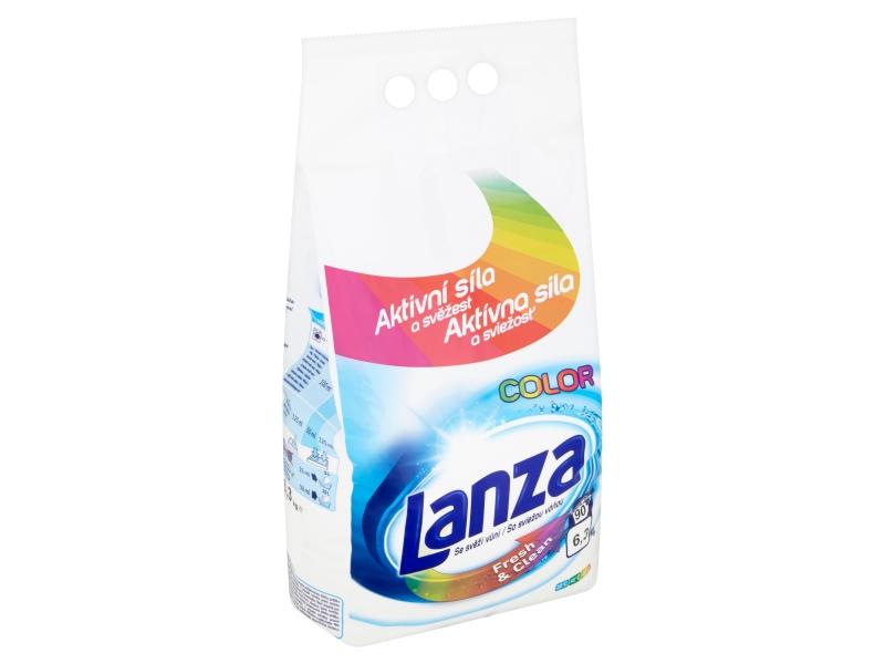 Lanza Fresh & Clean Color prášek na praní (90 praní) 6,3kg