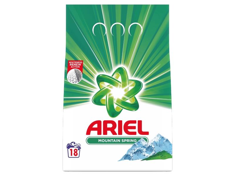 Ariel Mountain Spring Prací Prášek (18 praní) 1,35kg