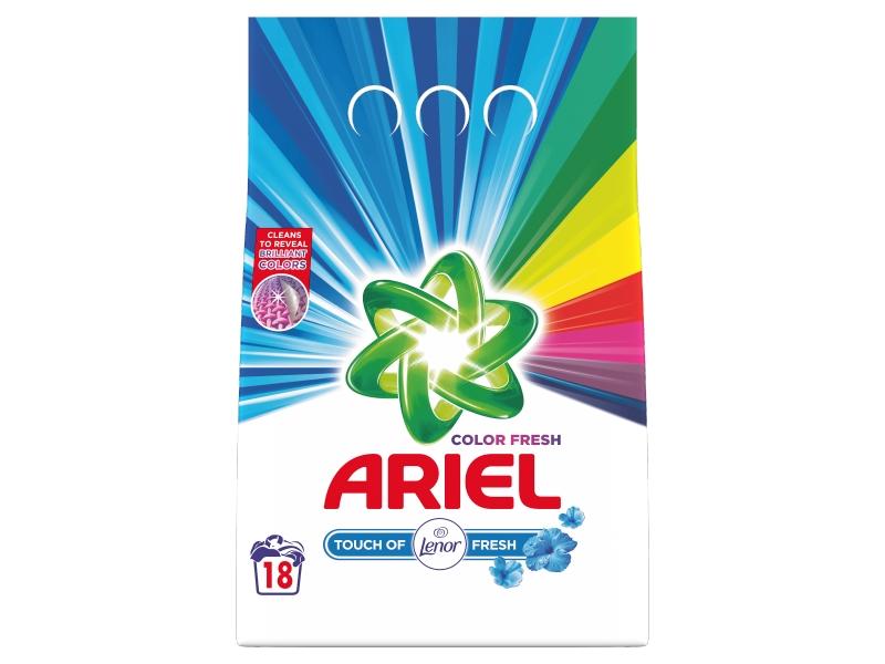 Ariel Touch Of Lenor Fresh Prací Prášek (18 praní) 1,35kg