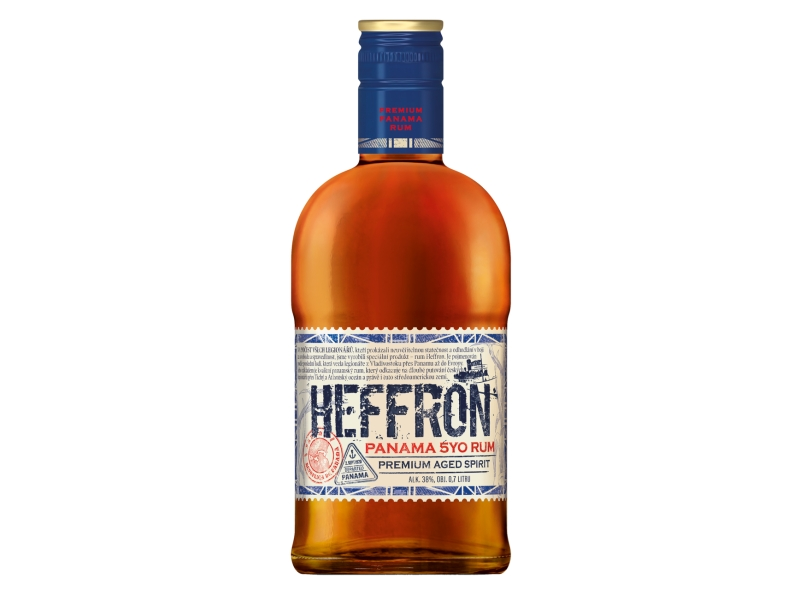 Heffron Panama 5yo rum 38% 0,7L