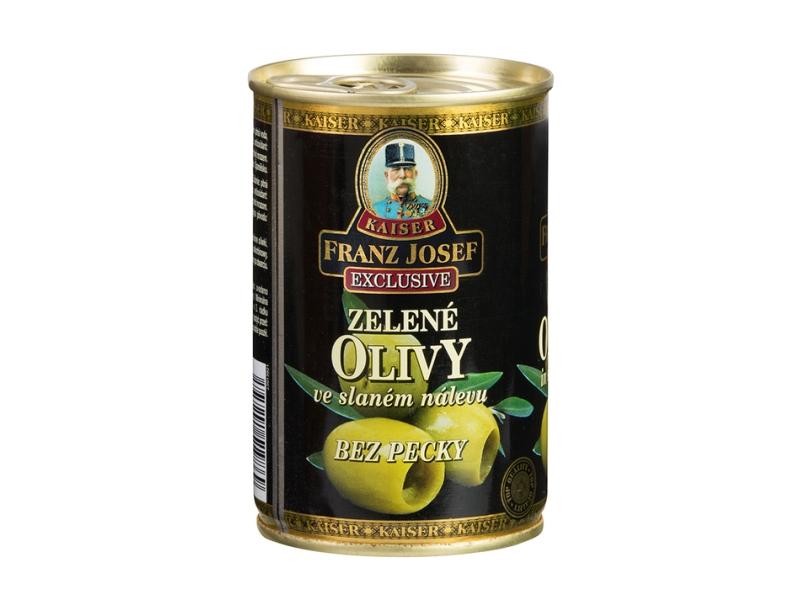 Franz Josef Kaiser Zelené olivy bez pecky 300g