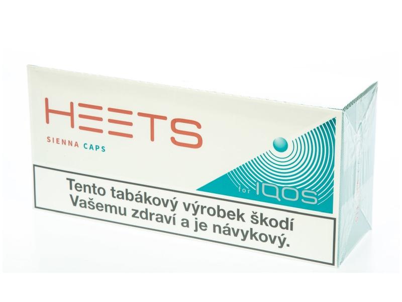 HEETS Sienna Caps Mint pro IQOS, karton 10 x 20ks