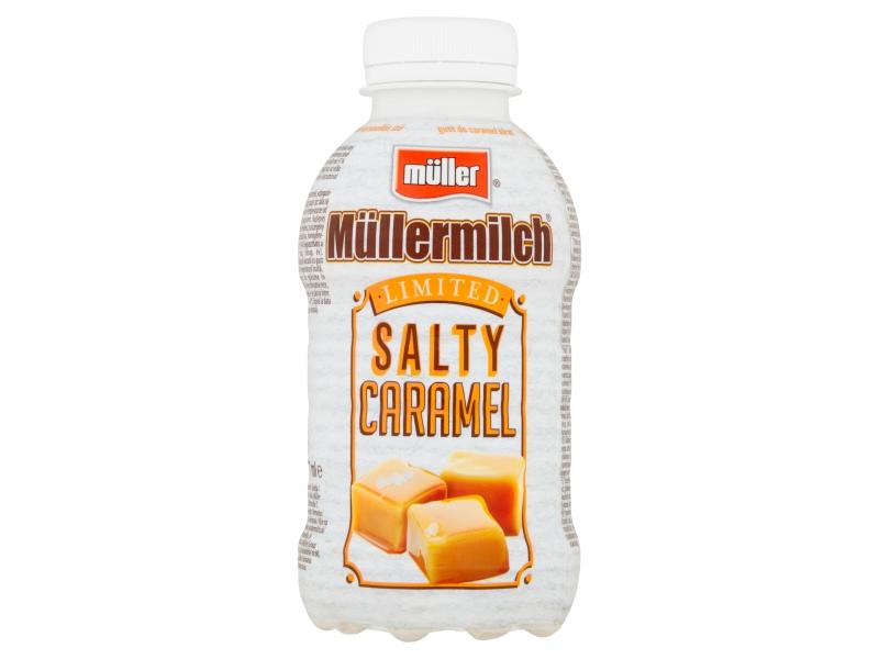 Müllermilch Mléčný nápoj slaný karamel 400g