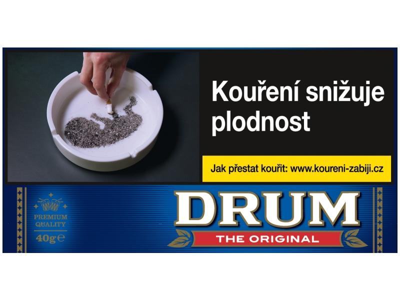 Drum Original Cigaretový tabák karton 5 x 40g
