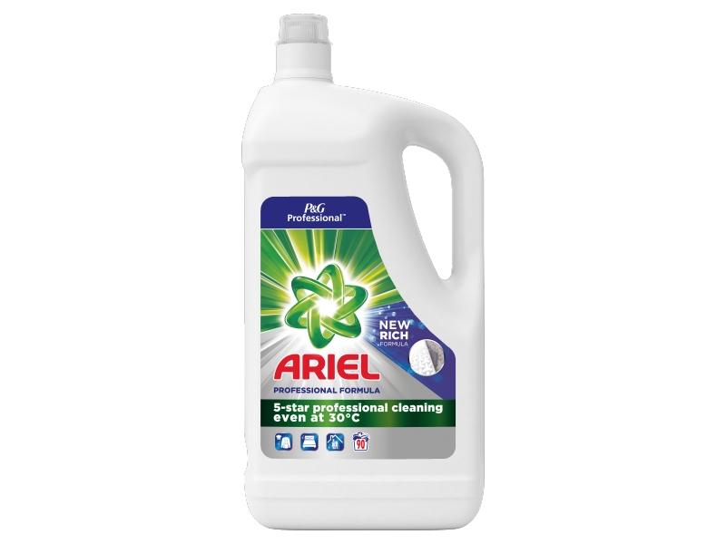 Ariel Professional Tekutý Prací Prostředek Regular (90 praní) 4,95L