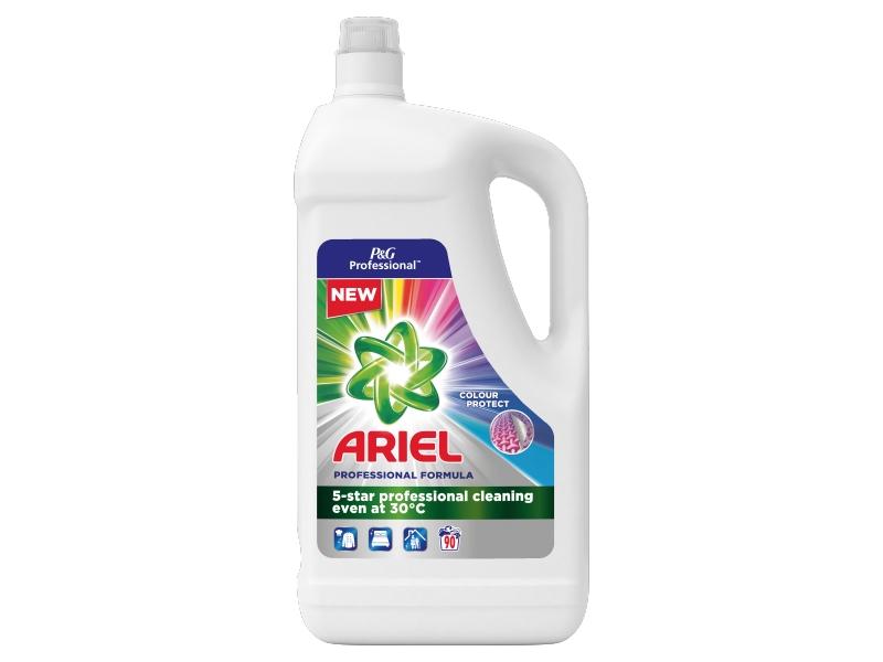 Ariel Professional Tekutý Prací Prostředek Color (90 Praní) 4,95L