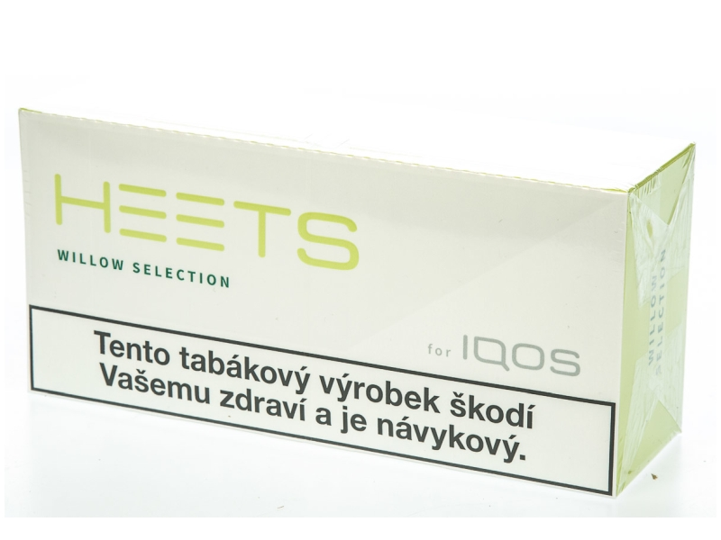 HEETS Willow Selection pro IQOS, karton 10x20ks