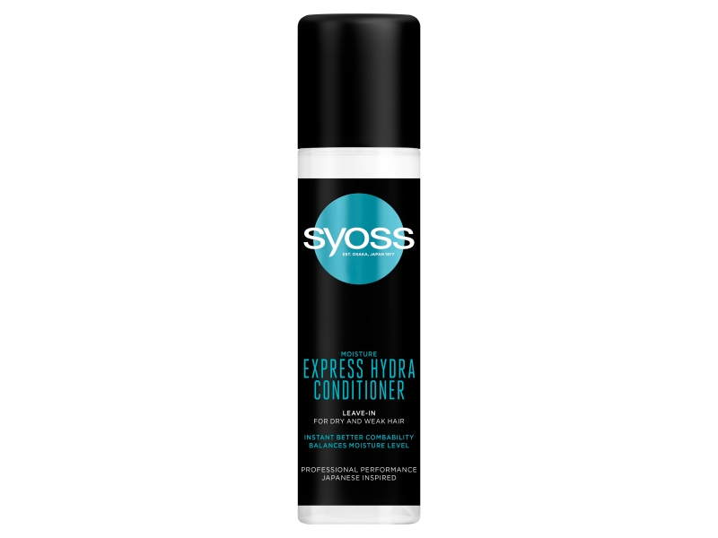 Syoss hydratační expres balzám Moisture pro suché a oslabené vlasy 200ml