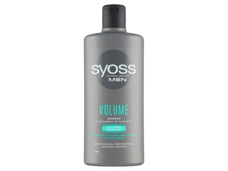 Syoss MEN Volume šampon pro muže s normálními až slabými vlasy 440ml