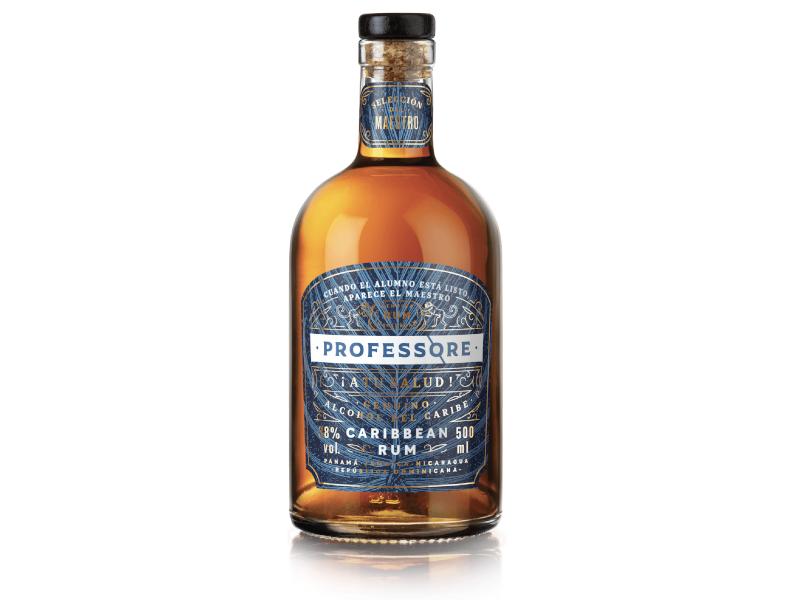Professore Caribbean Rum 38%, 0,5L