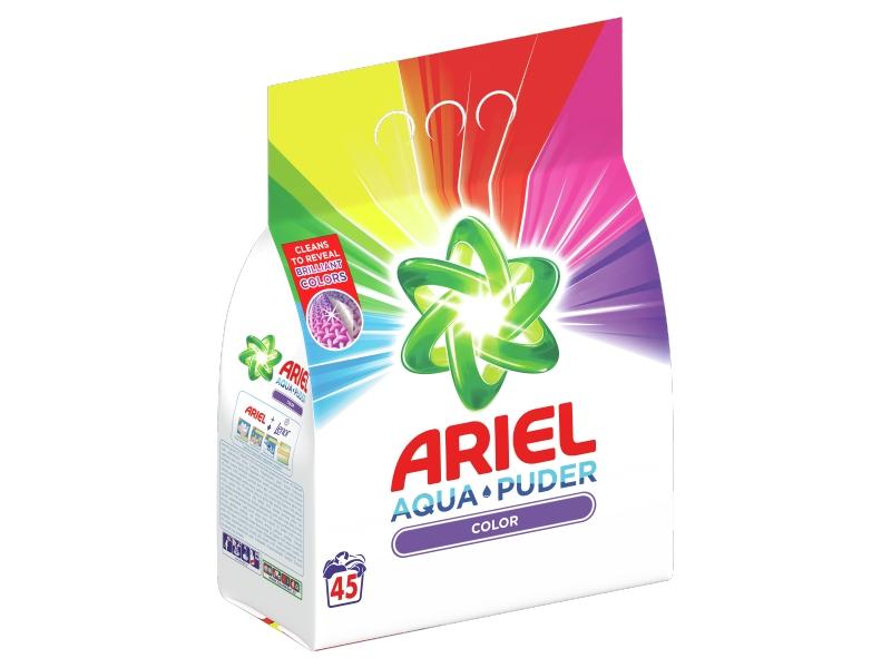 Ariel AquaPuder Color Prací Prášek (45 praní) 3,375kg