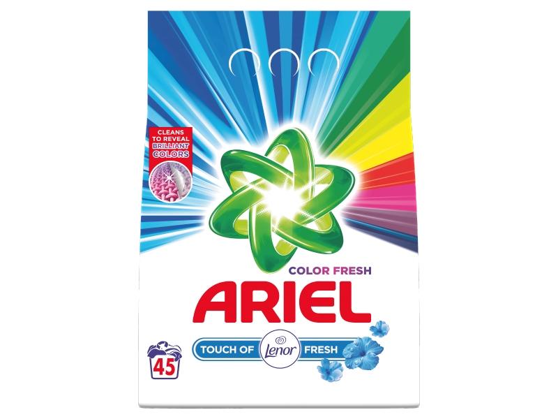 Ariel Touch Of Lenor Fresh Color Prací Prášek (45 praní) 3,375kg