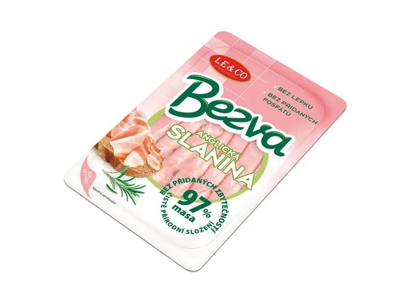 LE & CO Bezva Anglická slanina 97 % masa 100g
