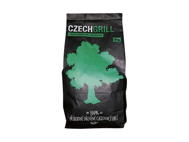 CZECHGRILL Dřevěné uhlí 3kg