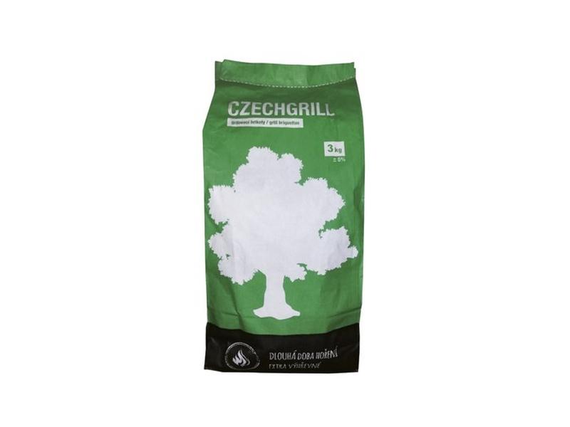 CZECHGRILL Grilovací brikety 3kg