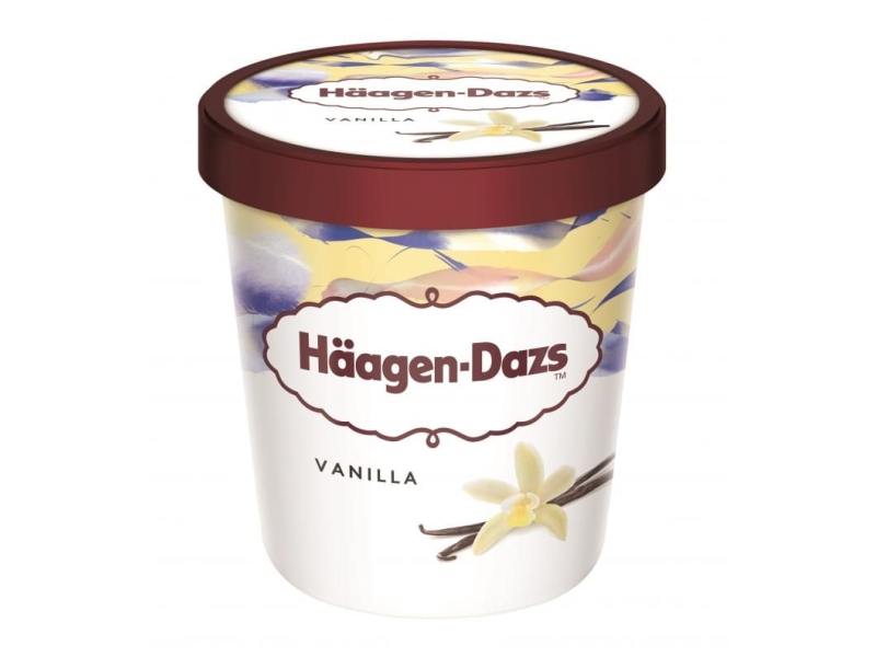 Häagen-Dazs Vanilla 460ml, kelímek